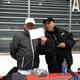 Ballroom instructor John Dryden and skating coach Bob Mock.