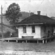Wexford Station with trolley, Photo courtesy of Pennsylvania Trolley Museum