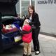 Bucciero Wins Car in Community Auto's Giveaway