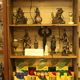 Apart from statuaries, books and essential oils, the store also makes its own incense, the scent of which fills the space.
