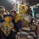 """Characters from """"Avenue Q"""" congregate outside the Midvale Main Street Theatre. The puppets are actual replicas of the ones used in the original Broadway show. (Midvale Main Street Theatre)"""