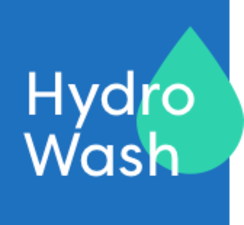 Medium hydrowash logo