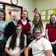 The ABC committee: Back to Front:Vanessa Jacobsen, Keslee Lake, Regan Cox, Megan Sternod, Kylie Garrett, Sabrina Taylor and Kristen Walker. (Salli Robinson/Hawthorn Academy)