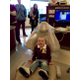 : Jack Wright sits in the dentist chair waiting for his father, a dental student at the school, to clean his teeth. (Mylinda LeGrande/City Journals)