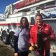 Sodalicious store owner, Keven Auernig with customer Toni Kirkham. (Toni Kirkham)