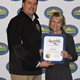 California Assemblyman Bill Brough and Educator of the Year Lynda Donovan