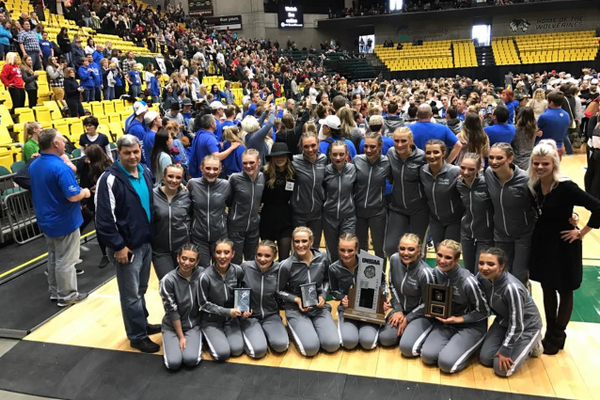 Placing second at the state championship, this year's Juan Diego drill team is the most decorated team the school has ever had. (Meaghan Williams/Juan Diego Drill)