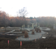 Deer Lakes Park playground under construction