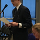 Taylorsville Youth Council Mayor Cole Arnold presented a bill during a mock debate on Utah's Capitol Hill. (Taylorsville City)