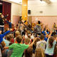 Cottonwood Elementary lip-sync performance part of reward assembly to celebrate students hard work. (Aspen Perry/City Journal)
