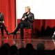 "Veronica Roth (right) speaks to audience members with Sarah Enni at Granger High School. Roth was promoting her new book, ""Carve the Mark."" (April Hendriksen/Tri-Color Times)"