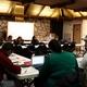Kara Barnette leads a philosophy class discussion. (Aspen Perry/City Journal).