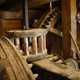 Some of the gears that operate the grist mill. It operates with equipment ranging from the 1700s to the 1900s.