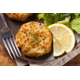 Crab cakes at Chestnut St Inn