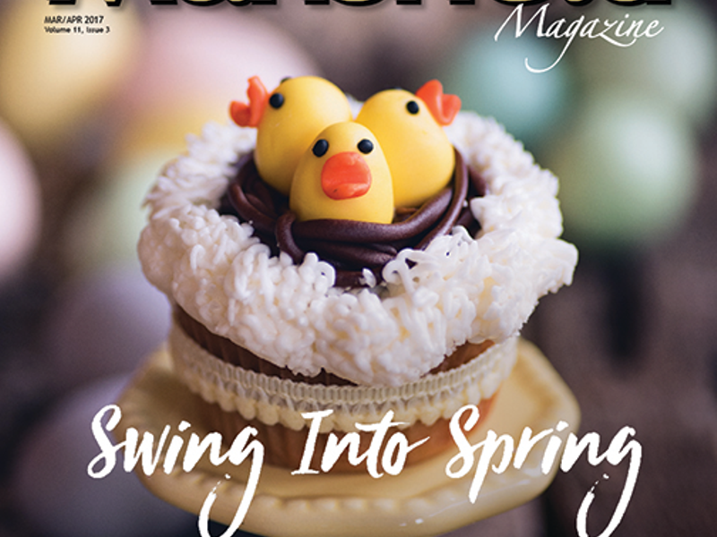Mansfield Magazine S March April 2017 Issue Celebrate Spring Green