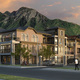 Rendering of Terraces at Holladay condominiums scheduled for completion fall 2017. (Chris Ensign/Solstice Homes).
