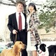 Officer Jon Richey with wife Hannah Yun-Richey, their bloodhound Molly, and border collie Clara. (Hannah Yun-Richey)
