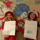 MacKenzy Goode and Kodi Klaus make their own silly rhymes fit for a Dr. Seuss book. (Jet Burnham/City Journals)