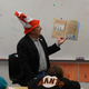 West Jordan Mayor Kim Rolfe reads to students at Heartland Elementary. (Janiece Atwood/Heartland PTA)