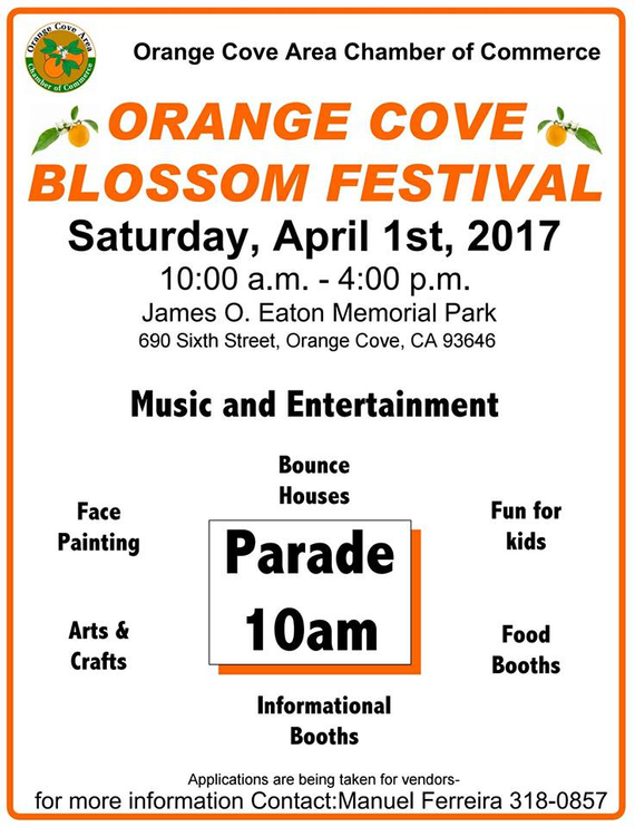 Orange cove ca blossom festival
