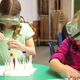 Longview Elementary fifth-grade students had the opportunity to have first-hand chemistry experiences during Discovery Gateway's outreach science program. (Julie Slama/City Journals)
