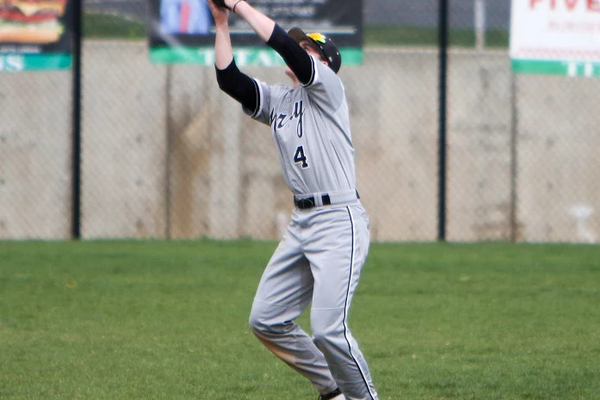 Murray High School's Drew Staley grabs a pop fly. (Glossy Sports Photos)