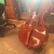 One of the cellos that returned for a face lift after years of playing. (Natalie Mollinet\City Journals).
