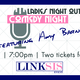 Ladies Comedy Night Out - start Apr 21 2017 0700PM