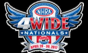 NHRA Four-Wide Nationals - start Apr 28 2017 0900AM