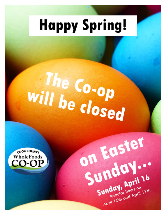 Closed 20easter 2017