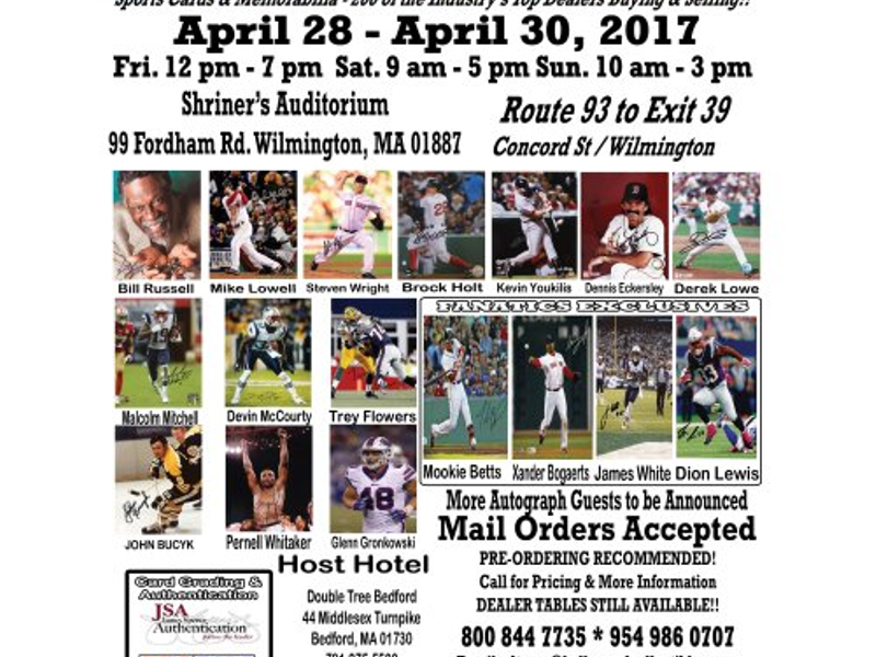 A Chance To Meet Boston Sports Champions Legends Your Tewksbury Today