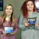 Valley High's Jasmynn Meaux and Bailey Stuckey were honored with the Accepting the Challenge of Excellence award from the Sandy Exchange Club. (Sandy Exchange Club)