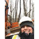 Carmin Sbarro, a geotechnical designer and president of the Pittsburgh Chapter of the National Association of Women in Construction (NAWIC)
