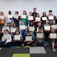 Sixth- graders received certificates for participation in addition to life skills and full stomachs. (Carla Dalton/Granite Food Services)