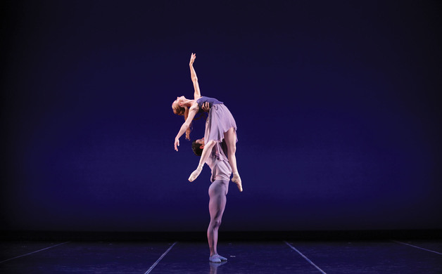 Danielle Brown  Ricardo Graziano in Alex Harrisons The Blue Hour - photo Frank Atura