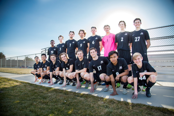 The Hillcrest Huskies boys soccer team are optimistic about the talent of this year's team. (Carly Carnahan/Pearls & Lace Photography)