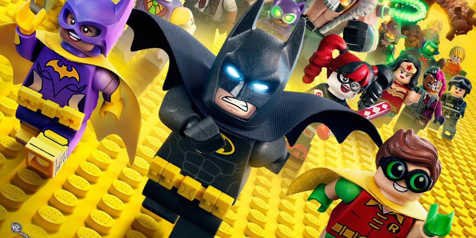 Lego batman movie poster characters