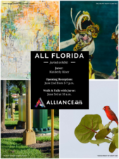 All Florida Juried Exhibit - start Jun 02 2017 1200AM