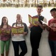 """Eliza Gabbitas, KarLe Smedshammer, Sam Bates and Tynan Portillo pose for a picture at a Taylorsville Arts Council """"Seussical the Musical Jr."""" rehearsal. (Tori La Rue/City Journals)"""