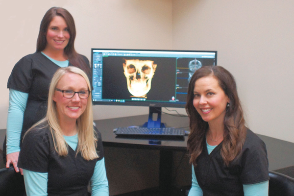 CBCT scan technology