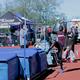 Hoping to clear the bar, a Jordan high jumper takes a leap. (Kenneth Damron/Jordan Head Coach)