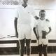 Ted Jordan and Kent Crawford at the Cottonwood Club, where Crawford's tennis career began. (Ted Jordan)