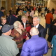 Mayor Cullimore will not seek re-election. Here, he is shown meeting many of the residents he has come to know personally. (Dan Metcalf/Cottonwood Heights City)