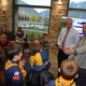 It is not uncommon to see Scouts at city council meetings, earning one of various badges. Every time, Mayor Cullimore introduces himself to every single one. (Dan Metcalf/Cottonwood Heights City)