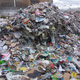 Piles of rejected waste from recycling bins can be seen at Trans-Jordan Landfill. (Trans-Jordan Landfill)