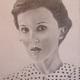 A pencil portrait by Mya Saltysiak of Oxford Area High School.