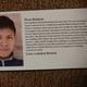 Junior Landon Brown's letter of encouragement to a Bolivian orphan. (Jet Burnham/City Journals)