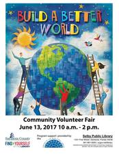 Community Volunteer Fair - start Jun 13 2017 1000AM