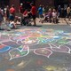 Chalkfest 2017 on Main Street Maple Grove. (Photo by Maple Grove Voice)