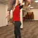 Cedar Winters shows off one of the lifts with Kenny Nakashima. (Keyra Kristoffersen/City Journals)